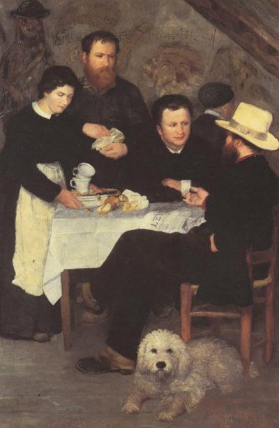 Pierre-Auguste Renoir The mother of cabaret Antony
