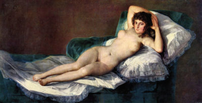 Francisco Goya The naked Maja