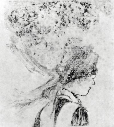 Edgar Degas The nurse