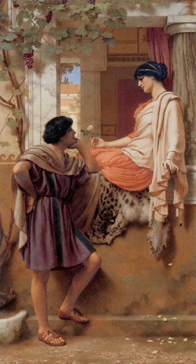 John William Godward The old