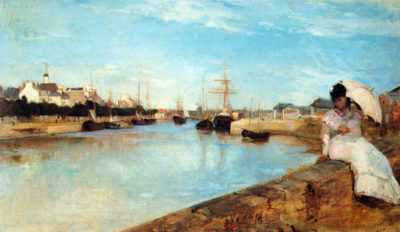 Berthe Morisot The port of Lorient