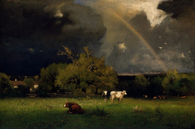 George Inness The rainbow