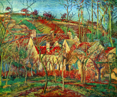 Camille Pissarro The red roofs