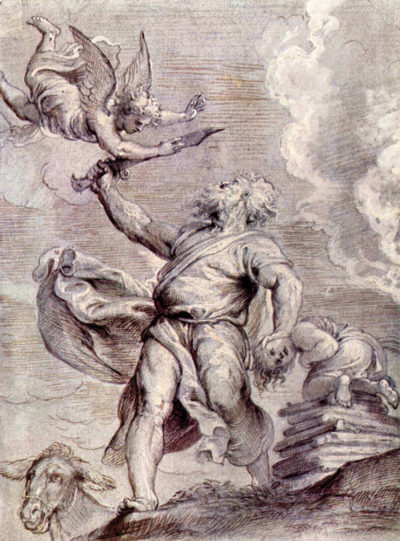Peter Paul Rubens The sacrifice of Abraham