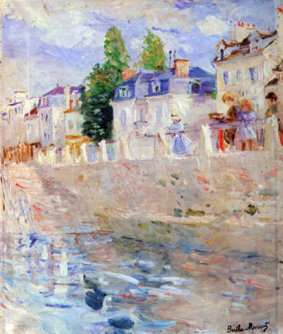 Berthe Morisot The sky in Bougival
