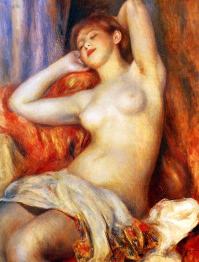 Pierre-Auguste Renoir The sleeping