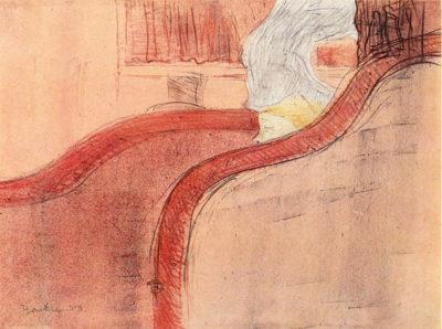 Henri de Toulouse-Lautrec The small loge