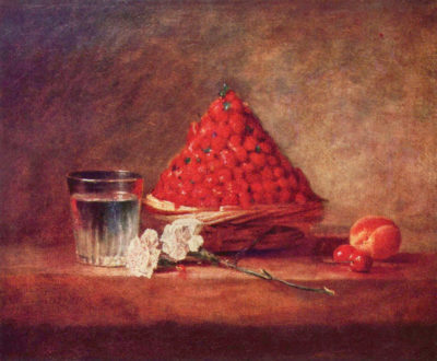 Jean Chardin The strawberry basket