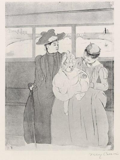 Mary Cassatt The streetcar