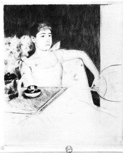 Mary Cassatt The tea