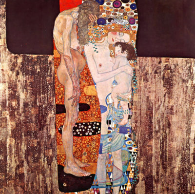 Gustav Klimt The three ages of a woman
