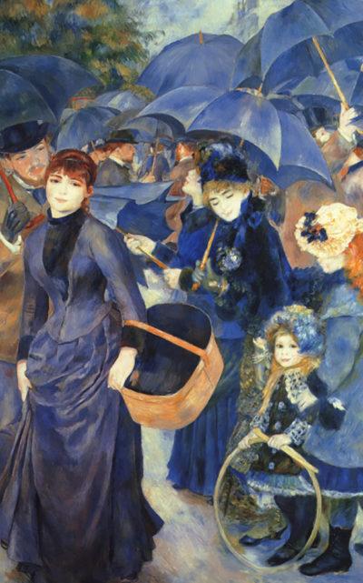 Pierre-Auguste Renoir The umbrellas