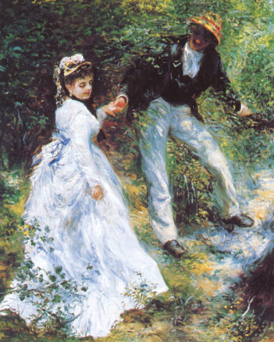 Pierre-Auguste Renoir The walk