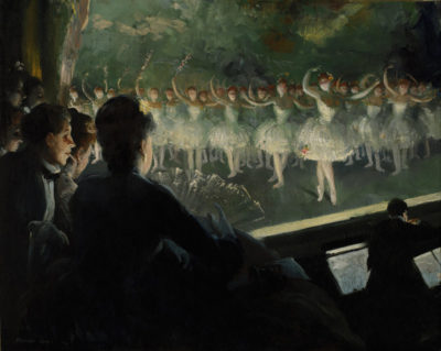 Everett Shinn The white ballet