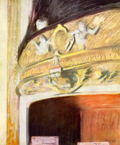 Edgar Degas Theater Loge