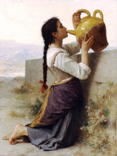 William-Adolphe Bouguereau Thirst