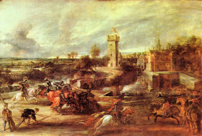 Peter Paul Rubens Tournament at a castle