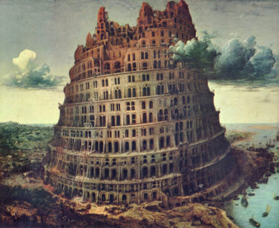 Pieter Bruegel Tower of Babel