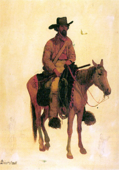 Albert Bierstadt Trapper