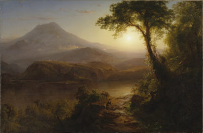 Frederic Edwin Church Tropical Scenery