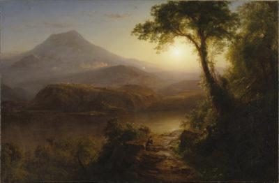 Frederic Edwin Church Tropical Scenery