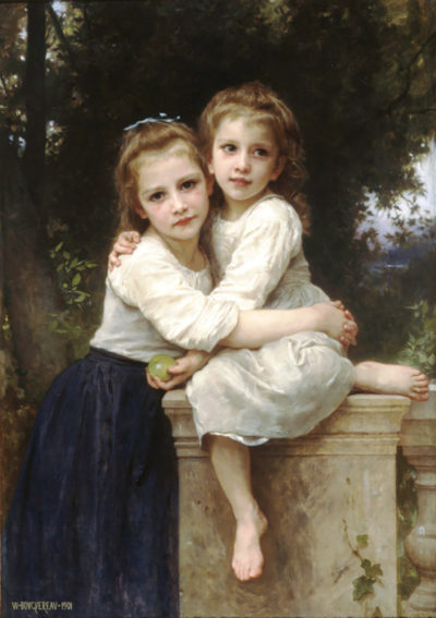 William-Adolphe Bouguereau Two Sisters