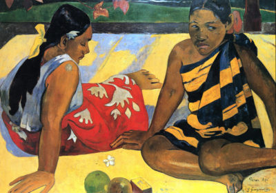 Paul Gauguin Two Women From Tahiti