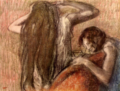 Edgar Degas Two girls