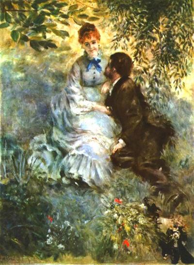 Pierre-Auguste Renoir Twosome