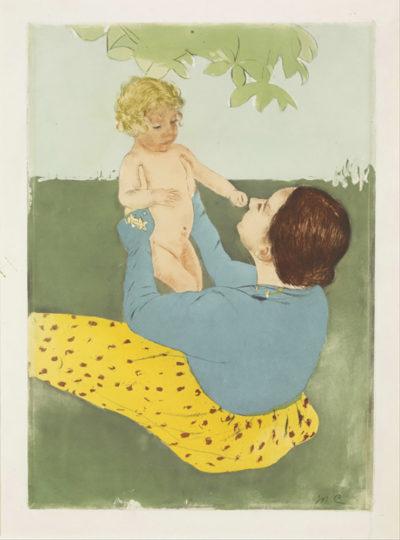 Mary Cassatt Under the Chestnut Tree