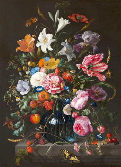 Jan Davidsz de Heem Vase of Flowers