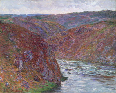 Claude Monet Valley of the Creuse