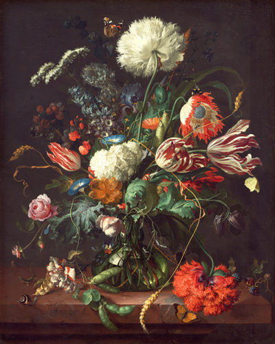 Jan Davidsz. de Heem Vase of Flowers