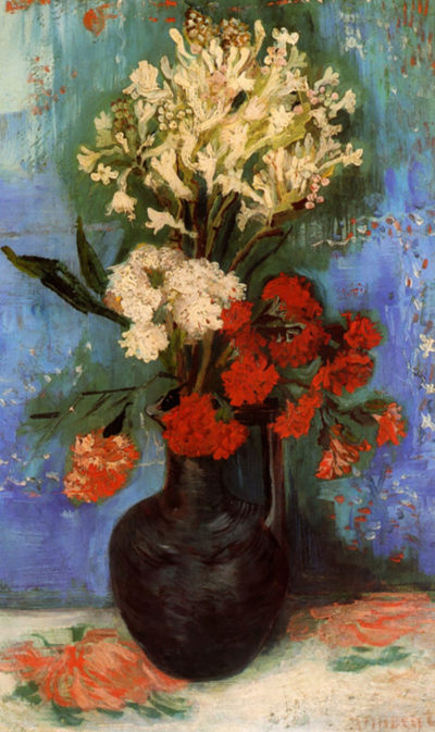 Vincent van Gogh Vase with Carnations and Other Flowers