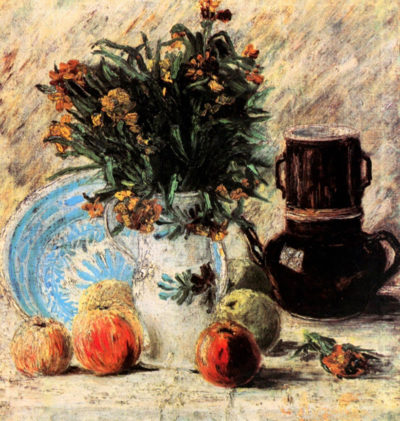 Vincent van Gogh Vase with Flowers