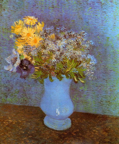 Vincent van Gogh Vase with Lilacs