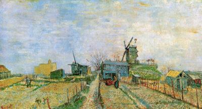 Vincent van Gogh Vegetable Garden in Montmartre