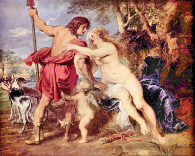 Peter Paul Rubens Venus and Adonis