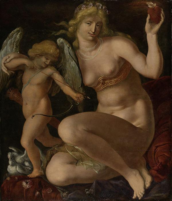 Jacob de Gheyn (II) Venus and Amor
