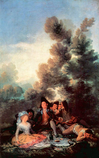 Francisco Goya Vesper outdoors