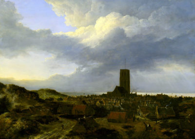Jacob van Ruisdael View of Egmond
