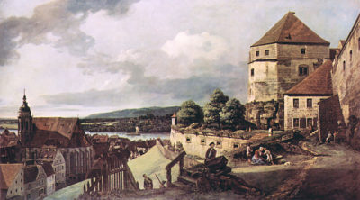 Canaletto View of Pirna