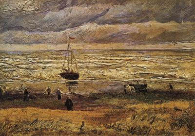 Vincent van Gogh View of the Sea at Scheveningen