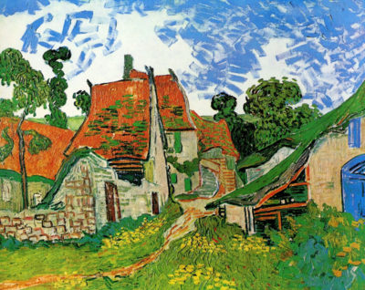 Vincent van Gogh Village Street in Auvers