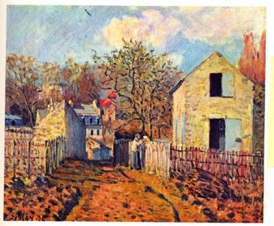 Alfred Sisley Village of Voisins