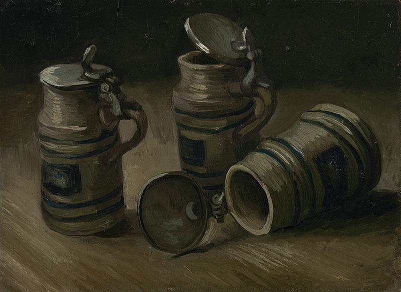 Vincent van Gogh Beer Tankards