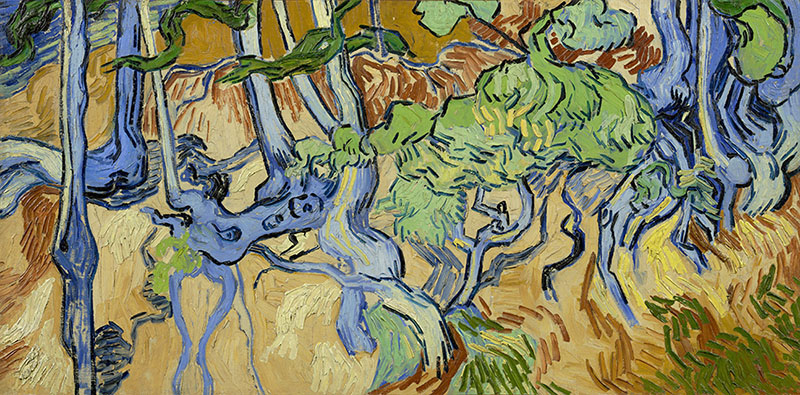 Vincent van Gogh Tree Roots