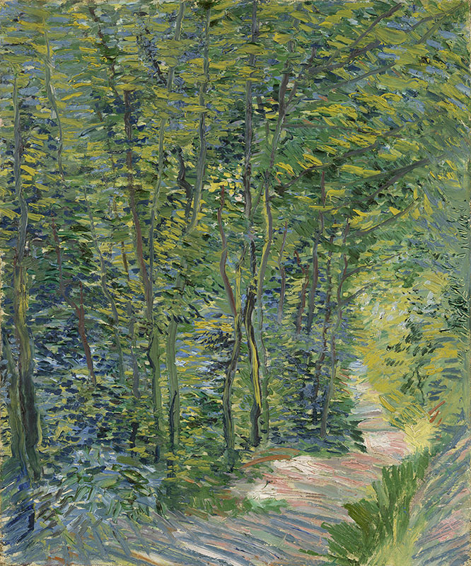 Vincent van Gogh Path in the Woods