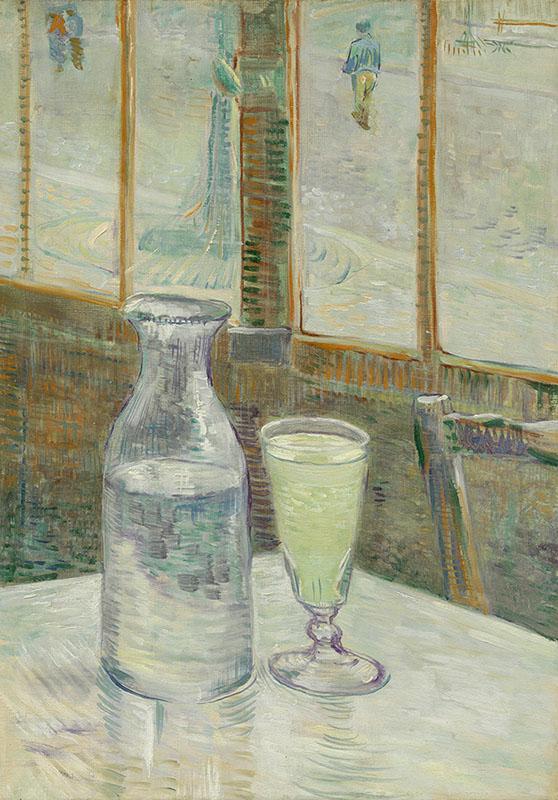 Vincent van Gogh Café Table with Absinthe