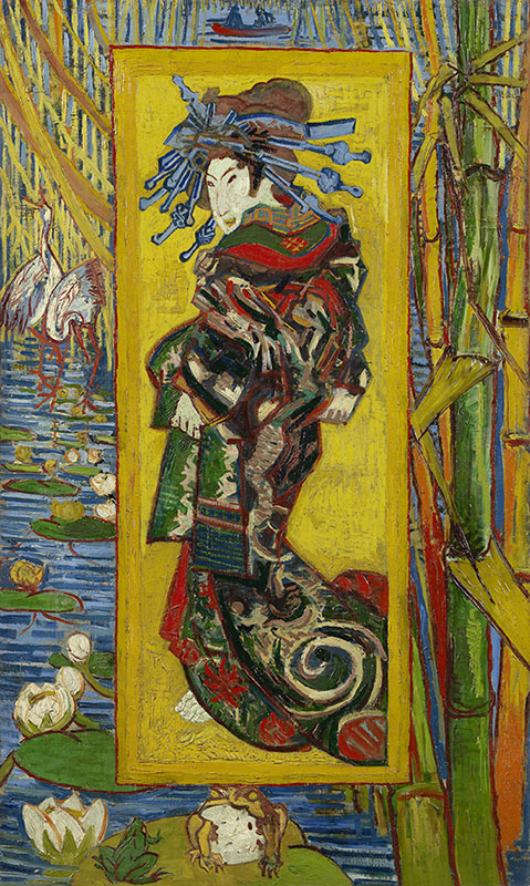 Vincent van Gogh Courtesan (after Eisen)